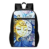 TRFashion Sac à Dos Romance of The Sun and The Moon Laptop Computer Backpack 17 inch...