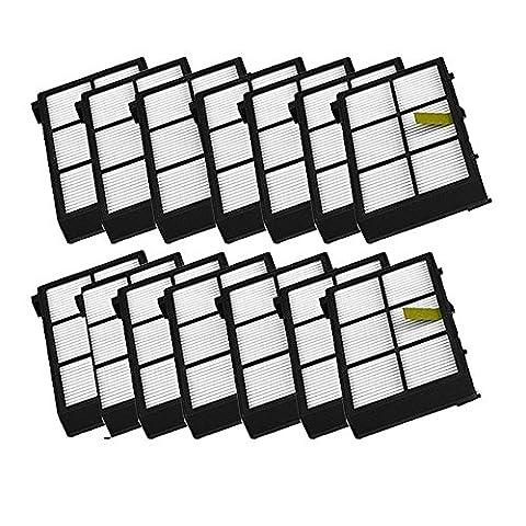 7Filtre HEPA pour aspirateur iRobot Roomba 800870880980, ytj Kit de filtres de rechange (800Series, 900Series) * * * * * * * * 7-pack * * * * * * * *