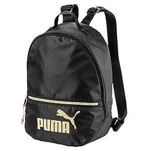 51XJ%2B0W67%2BL. SS300  - PUMA 75402, Backpack Mujer, Black-Gold, Talla única