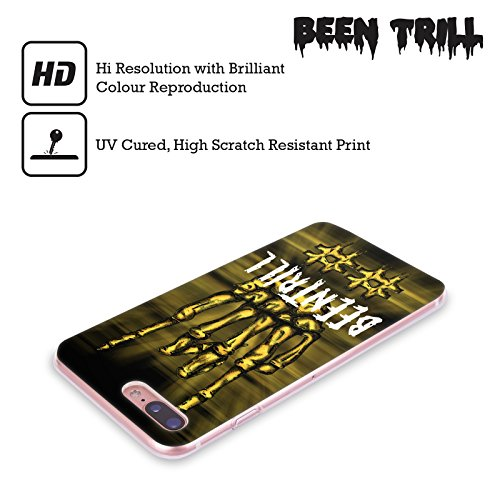 Official Been Trill Le Sir Mixed Soft Gel Case for Apple iPhone X Rock Sign