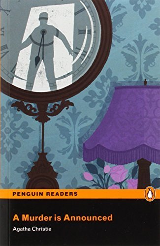 Murder Is Announced, A, Level 5, Penguin Readers (Penguin Readers Level 5) by Christie, Agatha (2014) Paperback