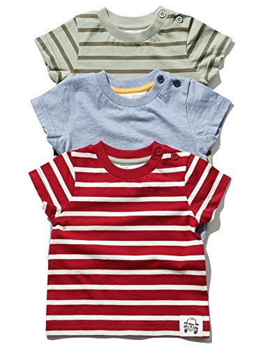 mco-baby-boy-short-sleeve-cotton-rich-striped-side-neck-fastening-t-shirts-three-pack-red-18-24-mnth