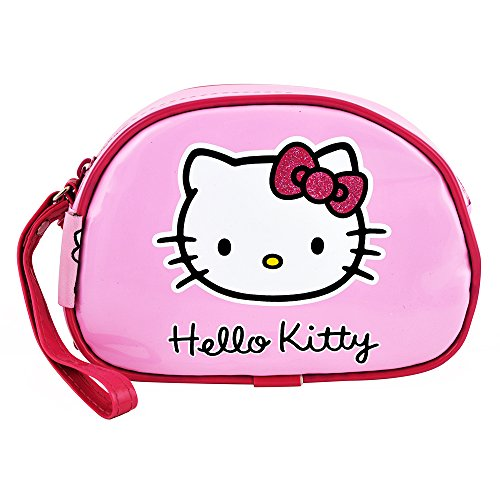 Hello Kitty - Geschenk Rosa Lack Make-Up Kit