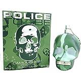 POLICE to be Camouflage Eau De Toilette Spray Colognes for Men, 4.2 Fluid Ounce