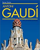 Front cover for the book Antoni Gaudi by Rainer Zerbst
