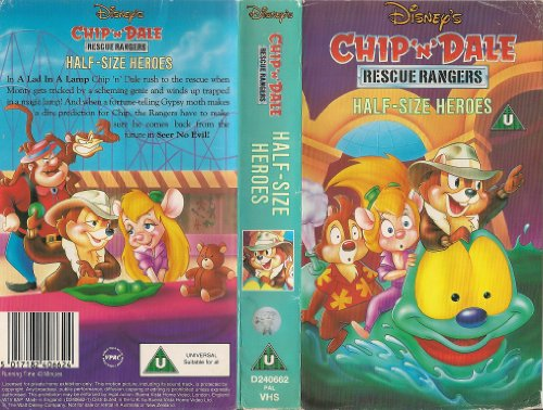 Chip 'n' Dale - Rescue Rangers - Half Size Heroes