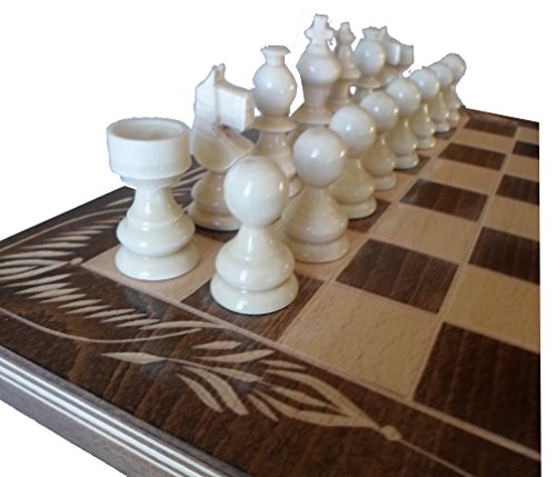 woopcrafts-handgefertigt-Buche-Holz-Schach-und-Backgammon-Set-32-x-32-cm