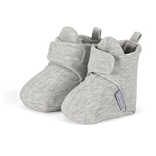 Sterntaler Unisex Baby Schuh Krabbel-& Hausschuhe Grau (Silber 513)