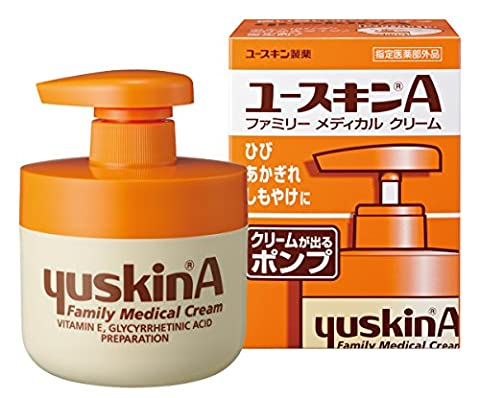 YuskinA | Body Cream | Pump 260g (japan import)