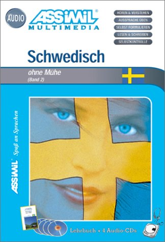 Schwedisch ohne Mühe : Band 2 (1 livre + coffret de 4 CD) (en allemand)