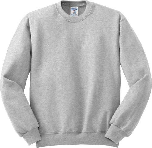 Hockey Symbol auf American Apparel Fine Jersey Shirt Grau - Ash