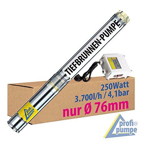 Tauchpumpe Förderkapazität von 6.000 l/h (0,00167 m³/s)