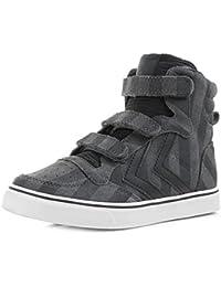 Hummel Junior Stadil Striples Sneaker Black