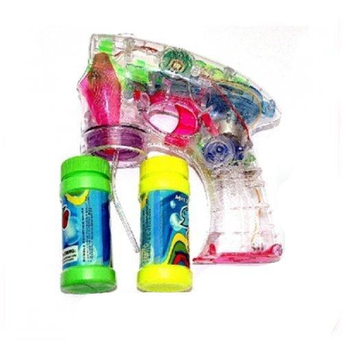 Seifenblasen-Pistole mit LED Licht inkl. 1 Behälter