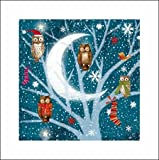 Charity Christmas cards - Christmas Wishes - 5 Christmas cards for charity. Sold in support of Marie Curie
