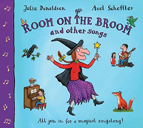 Room on the Broom and Other Songs (Gedichte Und Halloween-lieder)