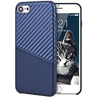 VemMore iPhone 7/iPhone 8 Hülle Case Handyhülle Ultra Slim Dünn Silikon PU Case Bumper mit Kartenfach 360 Protection... preisvergleich bei billige-tabletten.eu