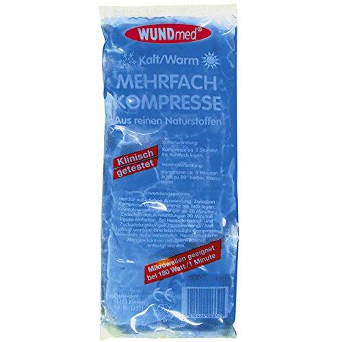 10 x Mehrfach-Kompresse Kompressen kalt/warm - groß