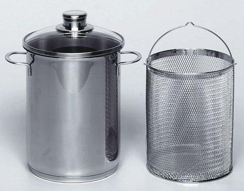 Krüger SPA03, asparagiera in acciaio inox da 16 cm e 3,5 litri