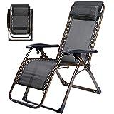 ZYX Stühle KFXL yizi Vierkantrohr-Breathable-Verstärkungs-Klappstuhl/Siesta-Bequeme Recliner/tragbarer im FreienLounge Chair/Balcony-Rückenlehne-Stuhl (Farbe : A)