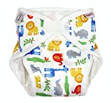 ImseVimse All-in-One Diaper Organic - Die Alles in einem Windel Zoo Größe M (medium) 8-11 kg