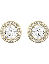 Swarovski Women White Crystal Stud Earrings 1081941