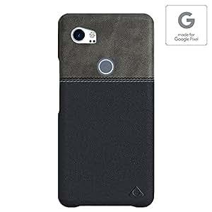 Stuffcool Lush VGPIXEL2XL-GRY/BLK Phone Case for Google Pixel 2 XL (Grey-Black)