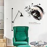Lozse Eyes Schlafzimmer TV Wanddekoration Wandaufkleber Aufkleber
