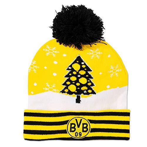 Borussia Dortmund BVB Mütze/Wintermütze ** Weihnachtsmütze **