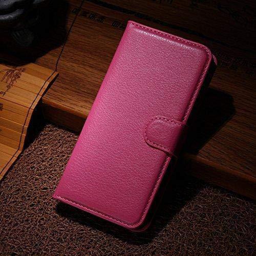 Für Xiaomi Mi8 Youth / Mi8 Lite Hülle, Geschäft Leder Wallet Schutzhülle Case Cover für Xiaomi Mi8 Youth / Mi8 Lite [Rose]