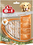 8in1 Delights Twist Chicken Sticks, 35-Piece