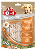 8in1 Delights Twisted Sticks Chicken Kauknochen, 1er Pack