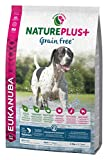 Eukanuba NaturePlus+ Grainfree, getreidefreies Trockenfutter für ausgewachsene Hunde aller Rassen, reich an gefrierfrischem Lachs, 2,3kg, 1er Pack