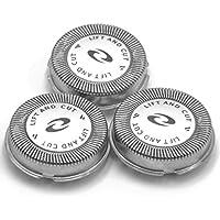 vhbw 3 x Cabezal de Afeitar afeitadoras Philips HQ7140, HQ7160, HQ7310, HQ7310XL, HQ7320, HQ7325, HQ7340, HQ7360, HQ7380, HQ7390, HQ8505, PT710, PT715