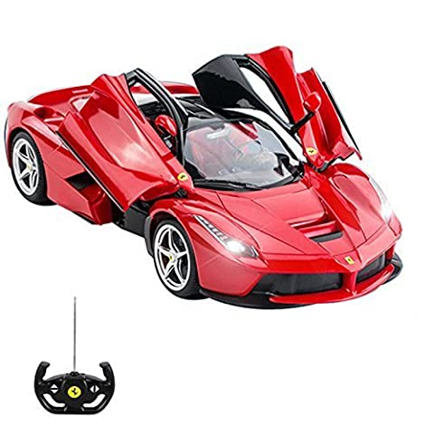 Official Licensed CM-2143 1:14 Ferrari LaFerrari Radio Controlled RC Electric Car with opening doors - Ready to Run EP RTR