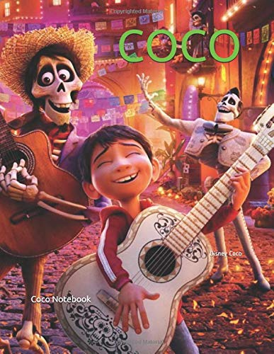 COCO: Disney Coco por Coco Notebook