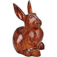 Redwood decorazioni domestiche Solid Artigianato del legno Carving a mano Forma Coniglio Regalo , 13*11*20 - Anatra Carving