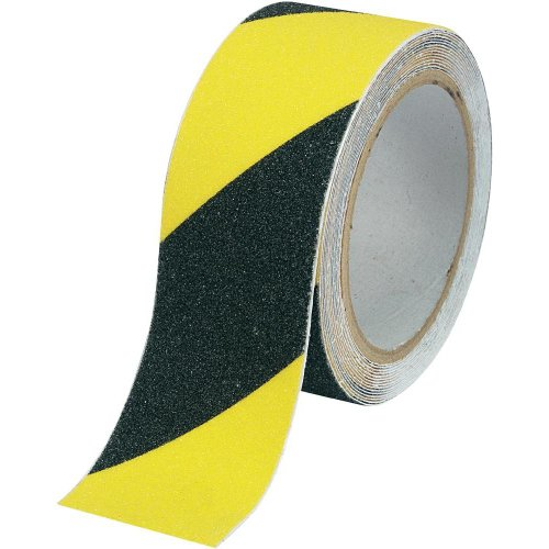 Anti-Rutschband Components Sugo black, yellow(L x B) 9 m x 25 mm Inhalt: 1 Rolle(n)