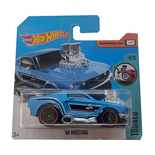 Hot Wheels '68 Mustang Tooned