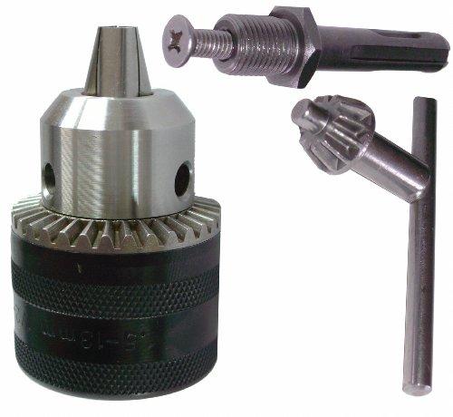 Preisvergleich Produktbild 3 in 1 Bohrfutter + Bohrfutter-Schlüssel + SDS Adapter 1, 5-13 mm
