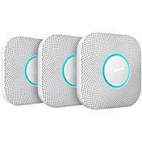 Nest Protect 2. Generation Rauch- und CO-Melder, 3-er Pack
