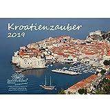 Kroatienzauber · DIN A4 · Premium Kalender 2019 · Kroatien · Zagreb · Split · Dubrovnik · Zadar · Novalja · Urlaub · Meer · Rab · Krk · Pag · Urlaub · Meer · Edition Seelenzauber