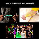 Glow Sticks, [100 Packs, Multi-Color] E2Buy Light Sticks Bracelets (Mixed)