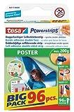 Tesa Spar-Set 2x: 58213-00000-03 Powerstrips® Poster Big Pack WEISS