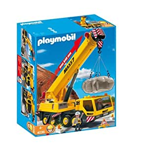 playmobil 4036 schwerlast mobilkran spielzeug. Black Bedroom Furniture Sets. Home Design Ideas