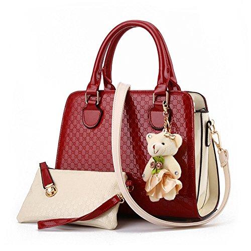dreamaccess-bolso-de-tela-de-otra-piel-para-mujer-medium-color-rojo-talla-medium
