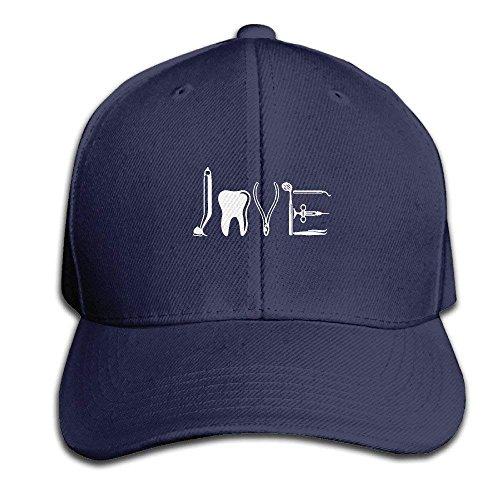66df4dbaa7e72 zengjiansm Gorras béisbol Love by Dental Equipments T-Shirt Dentist Health  Care Adjustable Baseball Caps