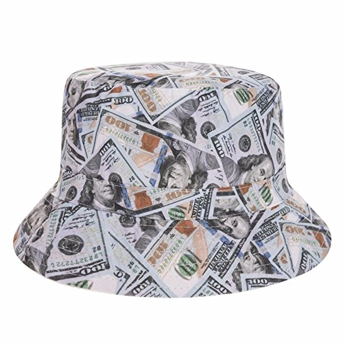 Alaani Fischerhut Bucket Hat Sonnenhut Print Money Dollars