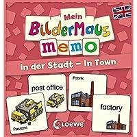 Mein-Bildermaus-Memo-Englisch-In-der-Stadt-In-Town-Kinderspiel Mein Bildermaus-Memo – Englisch – In der Stadt – In Town (Kinderspiel) -