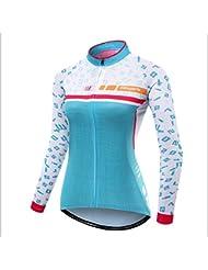 Maillot à manches longues Jersey VTT Vélo Vêtements Automne Respirant